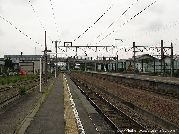 黒姫駅の1番線その4