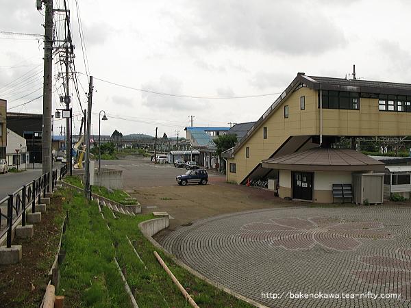 黒姫駅北口広場
