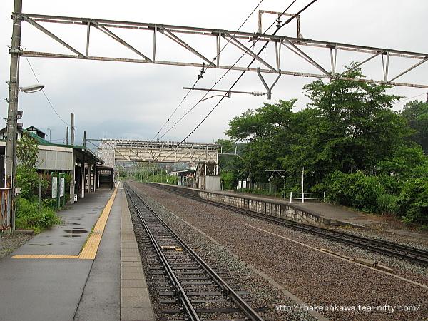 牟礼駅の1番線その1