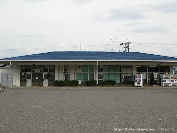 三才駅駅舎その1