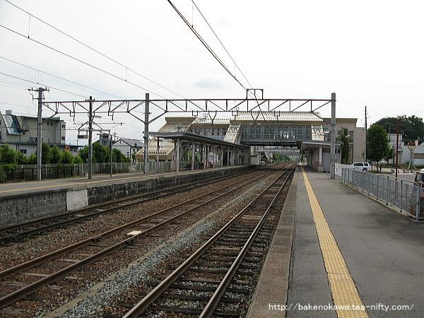 豊野駅の1番線その4