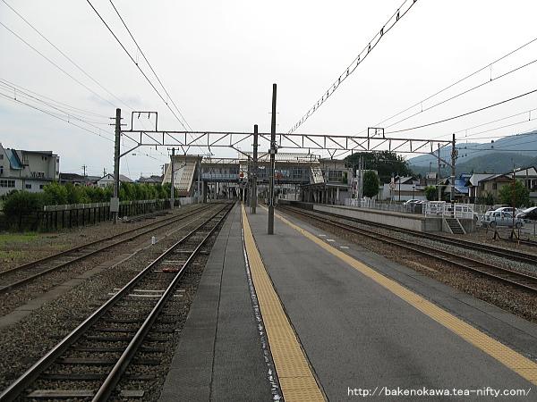 豊野駅の2-3番島式ホームその3