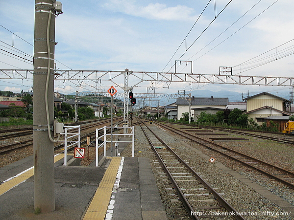 豊野駅の2-3番島式ホームその4