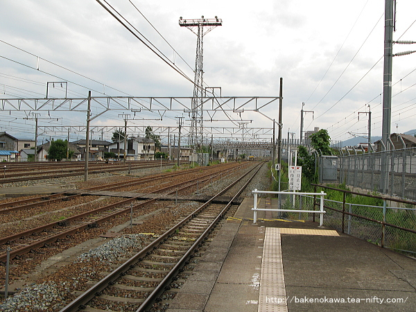 北長野駅の1番線その4