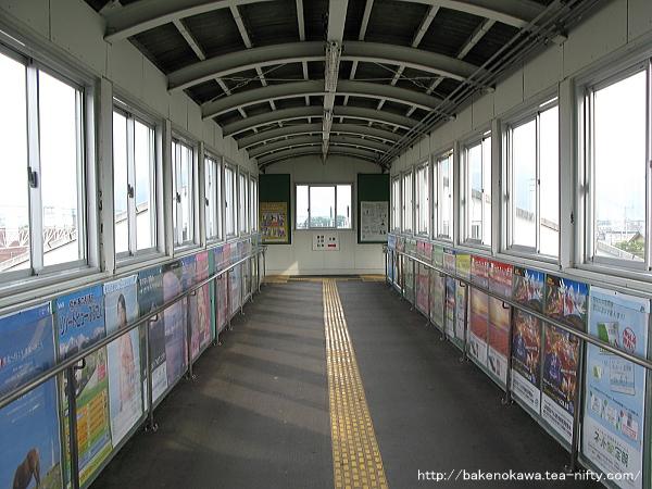 北長野駅の跨線橋