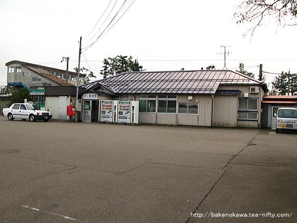 犀潟駅駅舎