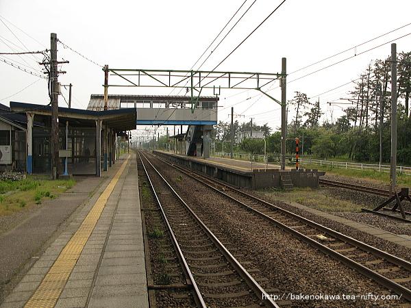 犀潟駅の1番ホームその3