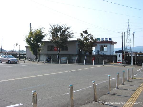 北五泉駅駅舎その1