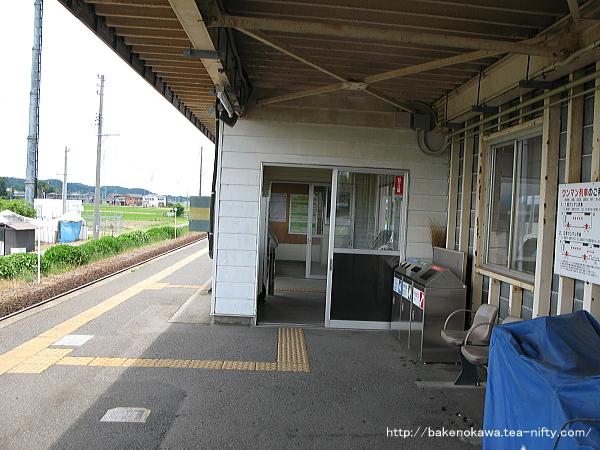 北五泉駅駅舎その4