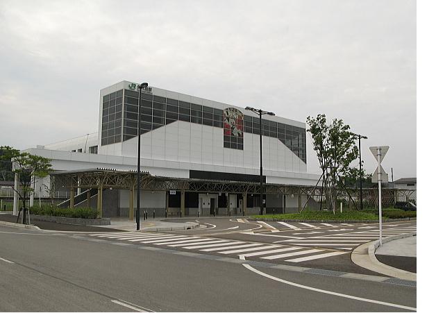 矢代田駅西口