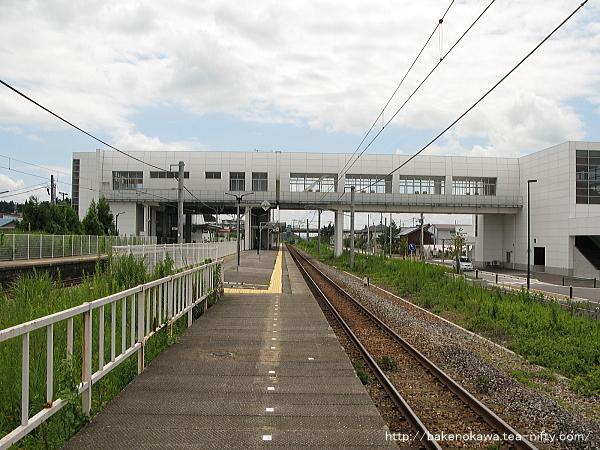 矢代田駅の旧島式ホームその3