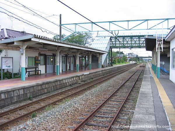 矢代田駅の旧構内その3