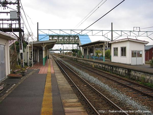 矢代田駅の旧構内その7