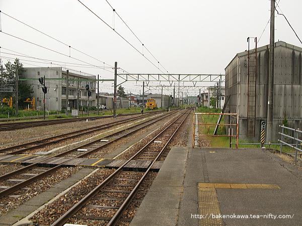 吉田駅の1番ホームその3