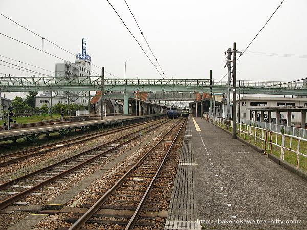吉田駅の1番ホームその4