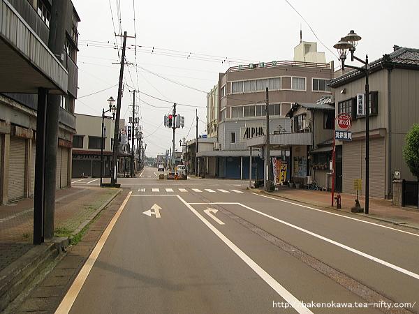 旧吉田町の中心街
