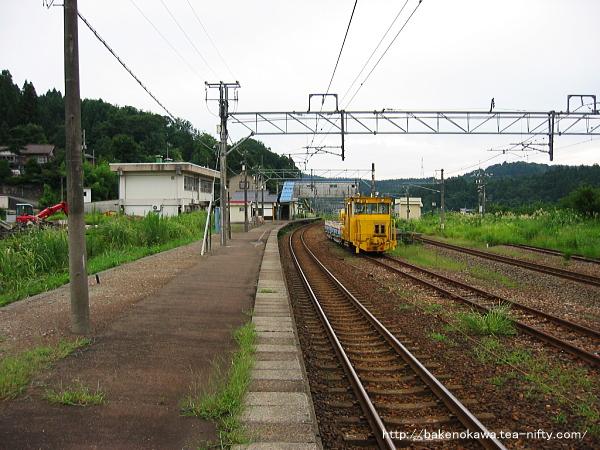越後広田駅の上りホームその3