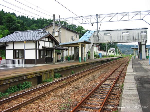 越後広田駅の旧島式ホームその3