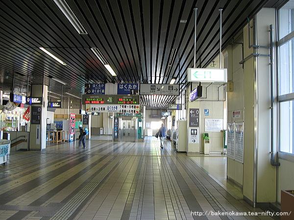 越後湯沢駅駅舎内部その3