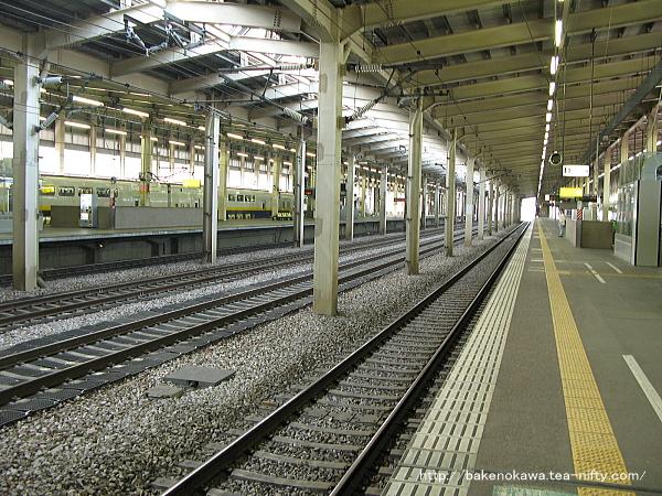 越後湯沢駅の上越新幹線構内その2