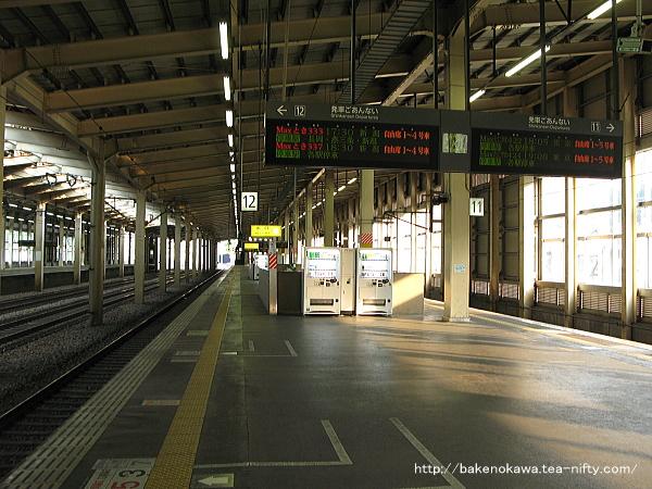 越後湯沢駅の上越新幹線構内その3