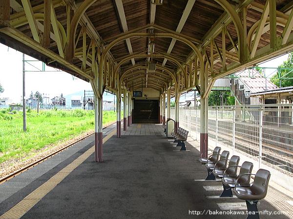 塩沢駅の旧島式ホームその4