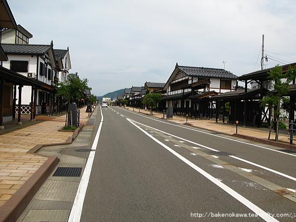 旧塩沢駅のメインストリートその2
