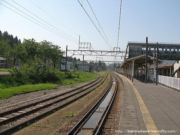 小千谷駅の旧島式ホームその2
