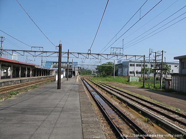 小千谷駅の旧島式ホームその4