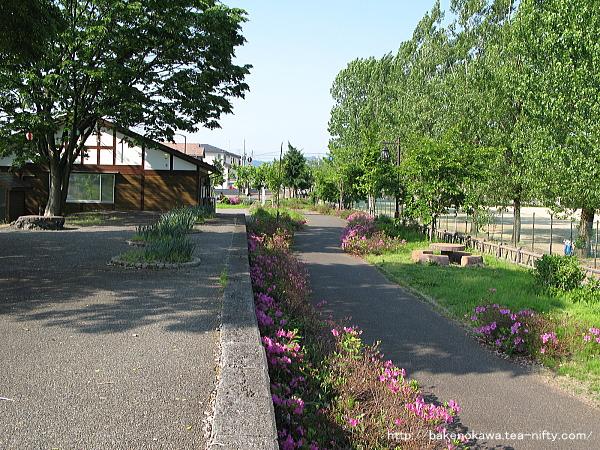 西小千谷駅跡の「ぽっぽの里公園」その1