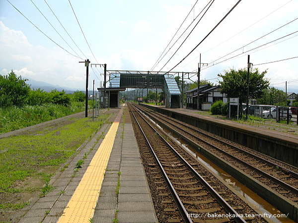 北条駅の上りホームその3