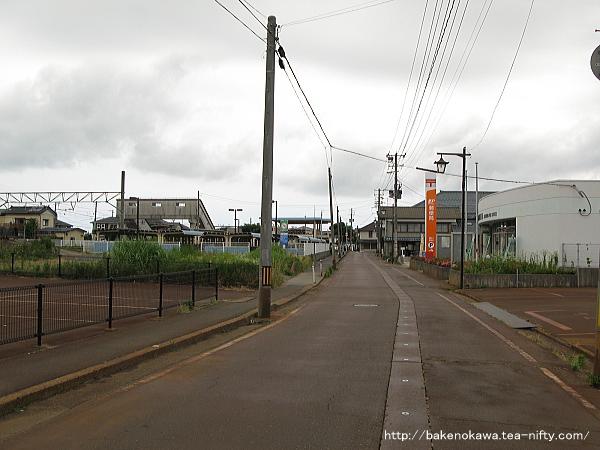 越後曽根駅前通りその2