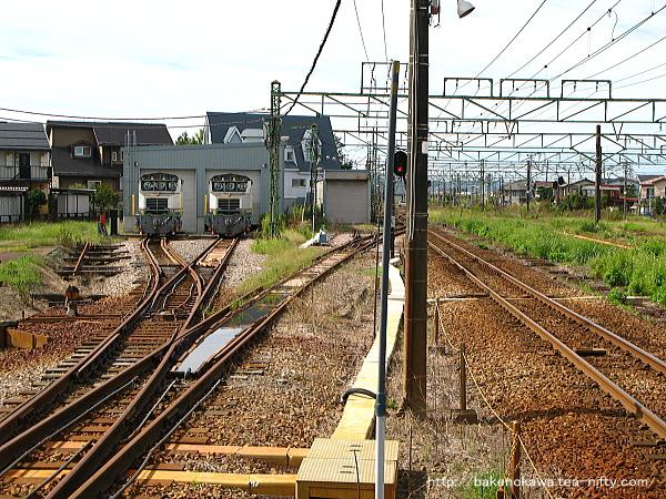 宮内駅の1番ホームその4