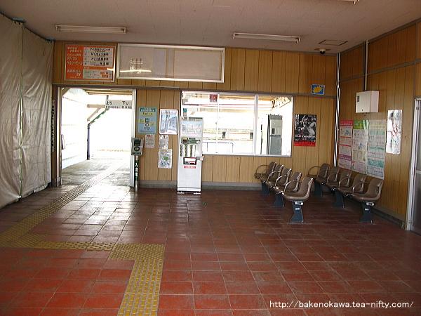 北長岡駅の旧駅舎内部その3