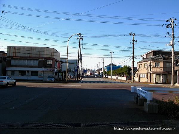 北長岡駅前通り