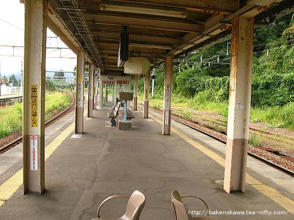 越後川口駅の島式ホームその10