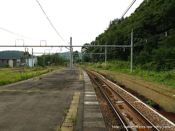 越後川口駅の島式ホームその4