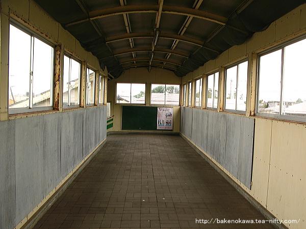 潟町駅の跨線橋