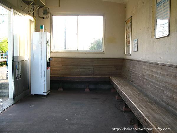 土底浜駅の下り側待合室その2