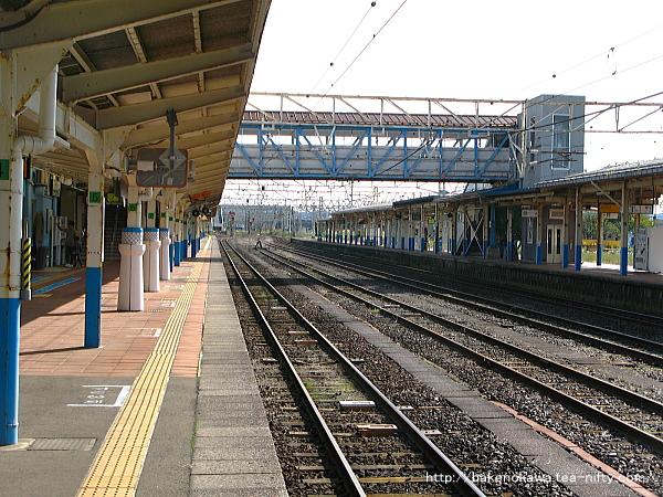 柏崎駅の1番線その3