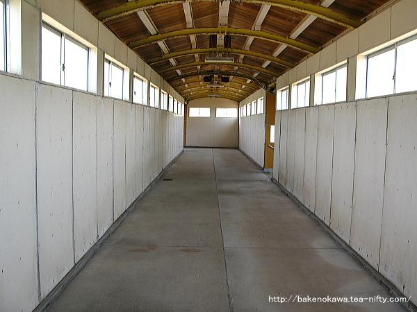 米山駅跨線橋