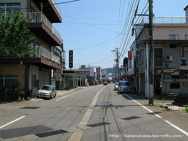 旧堀之内町の中心街
