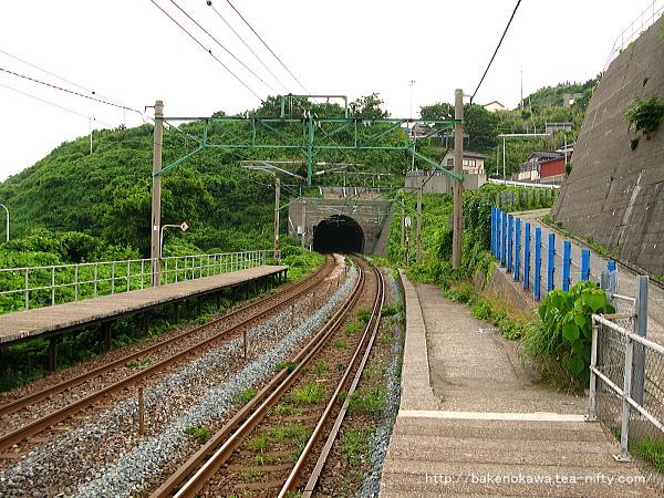 笠島駅の上りホームその2