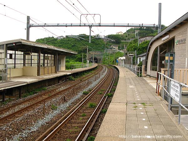 笠島駅の上りホームその3