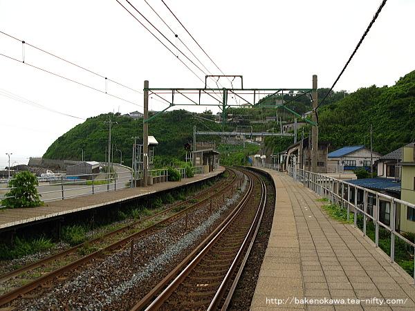 笠島駅の上りホームその4