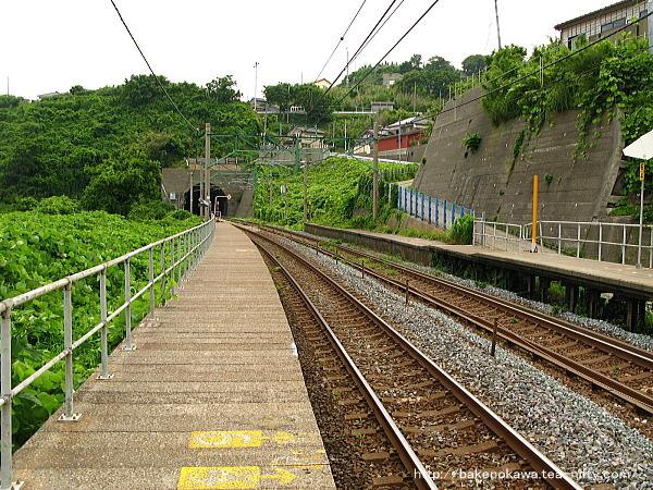 笠島駅の下りホームその2
