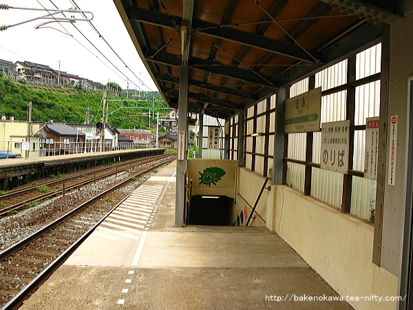 笠島駅の下りホームその3