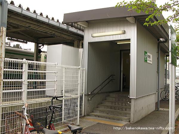 駅舎改築前の内野駅北口その2