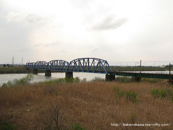 阿賀野川鉄橋その二