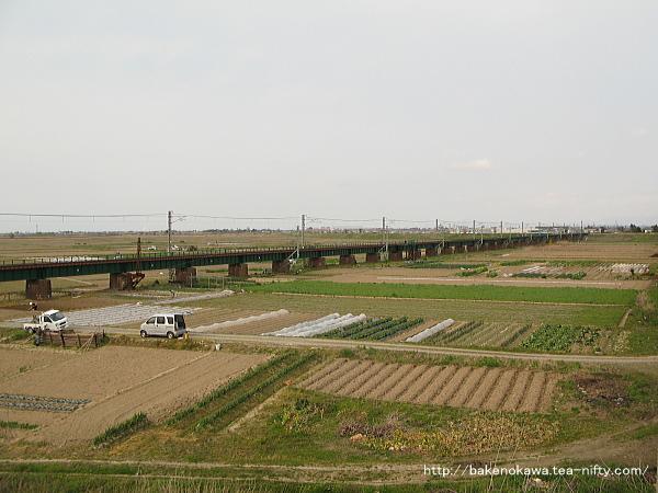 阿賀野川鉄橋その一
